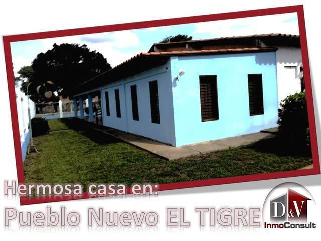 Casa en pueblo nuevo el tigre (alquiler)