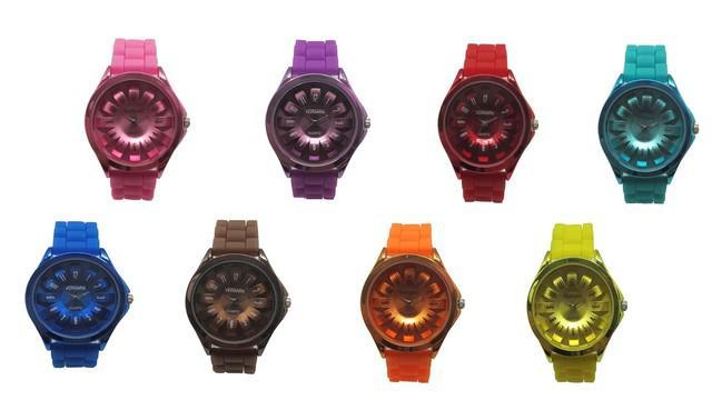 Comercializa hermosos relojes vergara