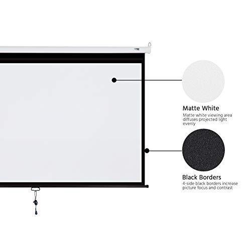 Computacion pantalla proyector para proyeccion amz