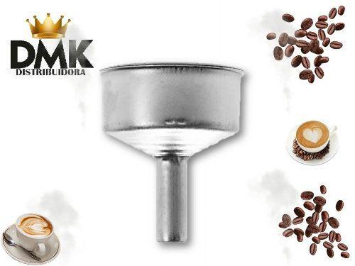 Embudo para cafetera greca de 6 tazas