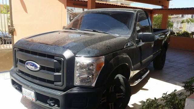 En venta camioneta super duty año 2011