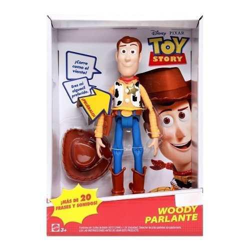 Figuras parlante toy story muñecos original woody buzz