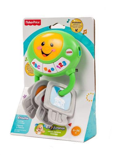 Fisher price juego de llaves sonidos y luces juguete bebes