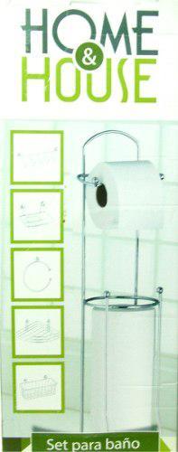 Juego de accesorio para baño cromado 6 piezas somos tienda