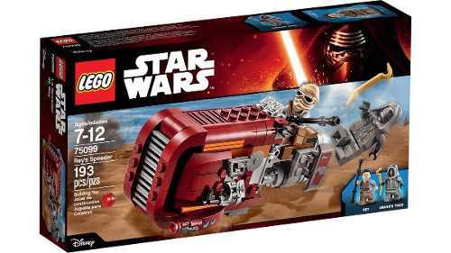 Lego city star wars 75099- rey's speeder 193 piezas.nuevo