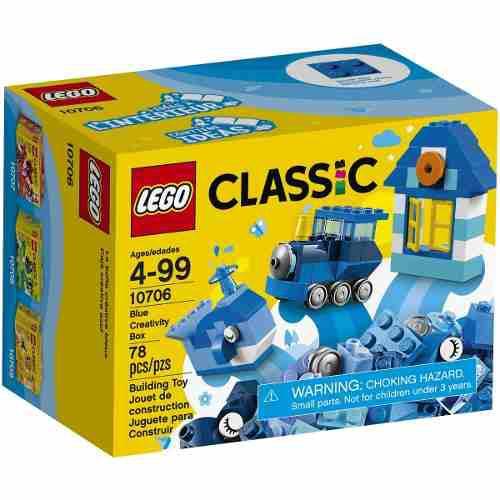 Lego classic original 10706 creativity box set azul
