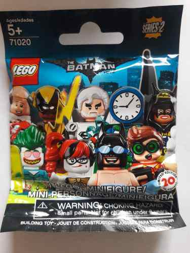 Lego minifiguras the batman movie- series 2