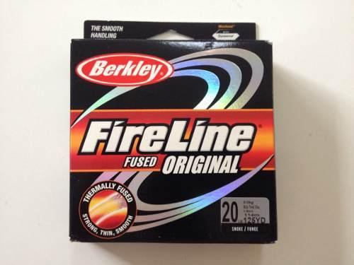 Línea multifilamento berkley fireline fused 20lb color