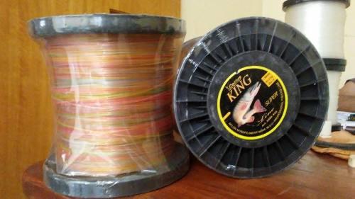 Nylon de pesca importado cottus, bobina mono150 lb, 500 mts
