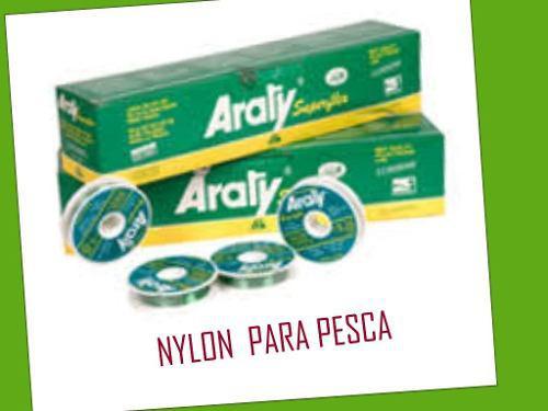 NYLON DE PESCA MARCA ARATY Y DOURADO, usado segunda mano  San Juan de los Morros (Guárico)