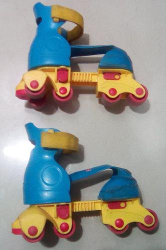 Patines de niño 4 ruedas talla ajustable fisher price