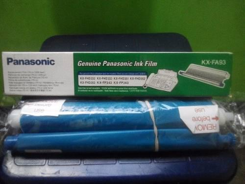 Pelicula para fax panasonic kx-fa93 original nuevo