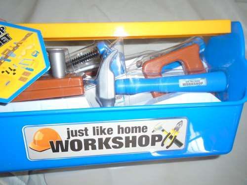 Set de herramientas casco de juguete para niños