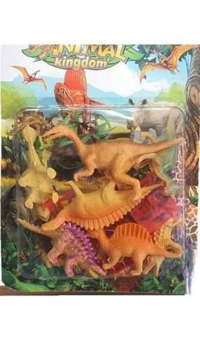Set dinosaurio juguete 11 piezas juego niño animales