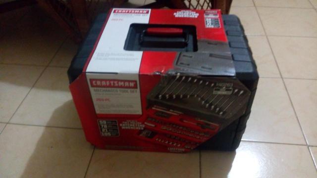 Se vende caja de herramientas craftsman de 263 piezas