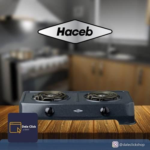 Cocina eléctrica 2 hornillas marca haceb / original