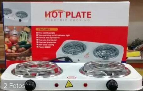 Cocina eléctrica de 2 (dos) hornillas nuevas hot plate