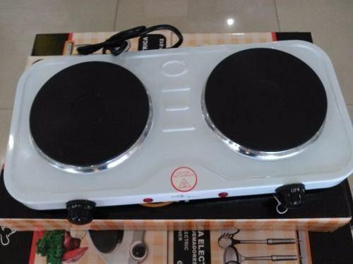Cocina electrica 2 hornillas hot plate 2000w nuevas