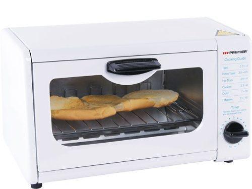Horno tostador premier 8 lts blanco nuevo