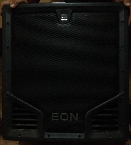 Bajo jbl eon 518s subwoofer jbl sonido profesional dj + caja