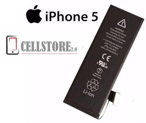Bateria pila iphone 5 5g nueva garantia! instalaciones apple