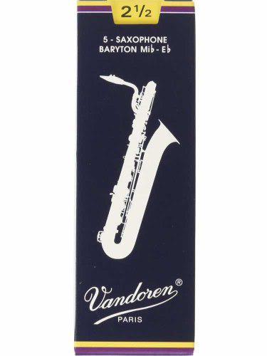 Cañas vandoren saxo baritono #2 y 1/2. saxo soprano #3 y
