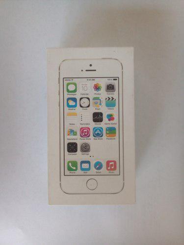 Caja de iphone 5s blanco con sus accesorios original