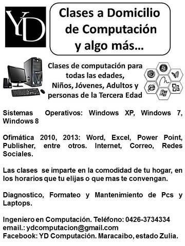 Clases de computacion
