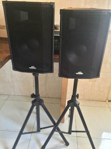 Cornetas amplificada de 12 sound barrier profesional