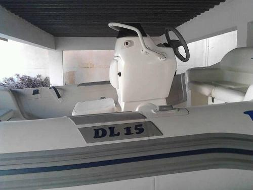 Dinguis caribe dl-15 motor evinrude 50 hp año 2015