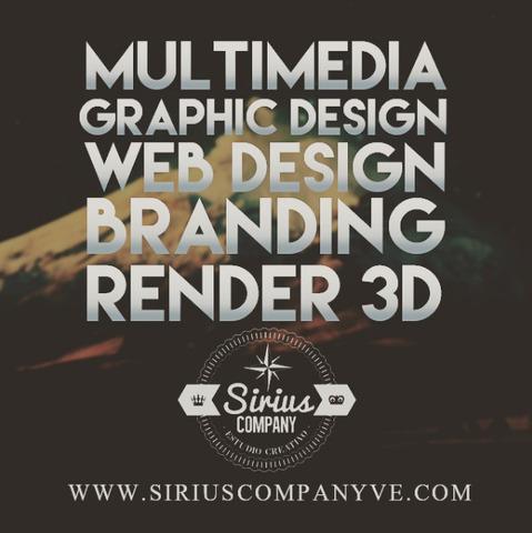 Diseño de paginas web, diseño gráfico y multimedia
