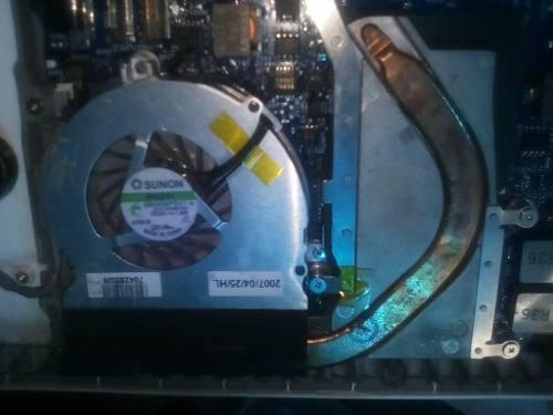 Fan cooler y disipador de calor para macbook a1181