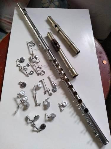 Flauta transversa transversal repuestos