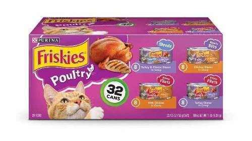 Friskies alimento enlatado para gatos