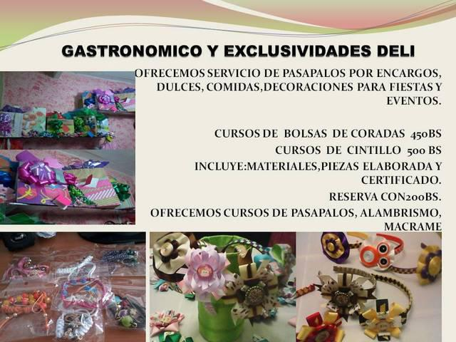Gastronomico y exclusividades deli