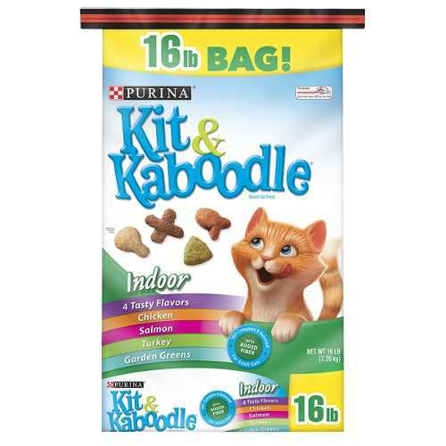 Gatarina purina kit & kaboodle 16 lb, 22 lb y 30 lb