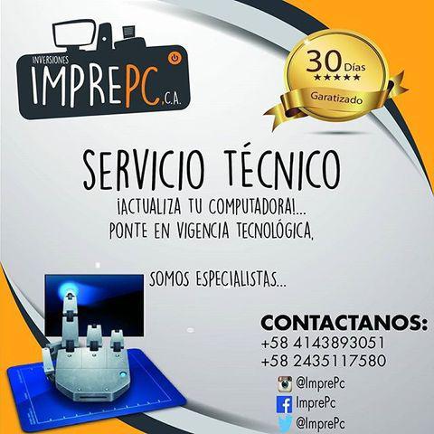 Imprepc c.a servicio técnico de computación e impresoras