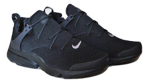 Kp3 zapatos caballeros nike air presto essential todo negro