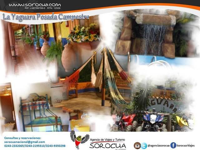 La yaguara posada campestre, agencia de viajes y turismo
