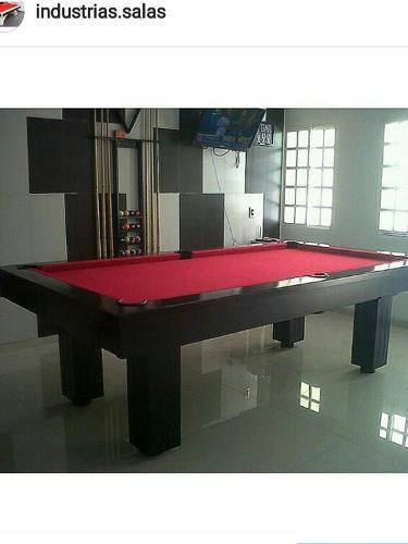Mesa de pool y billar profesional modelo deportivo