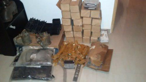 Se vende inventario de partes de motores mtu