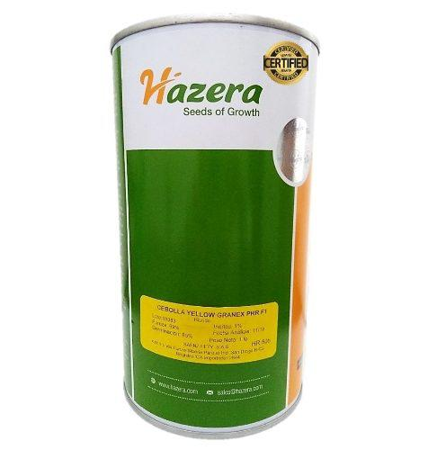Semillas certificadas de cebolla yellow granex f1 452 gramos