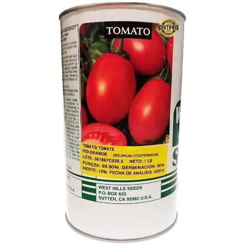 Semillas de tomate rio grande lata de 500 gramos