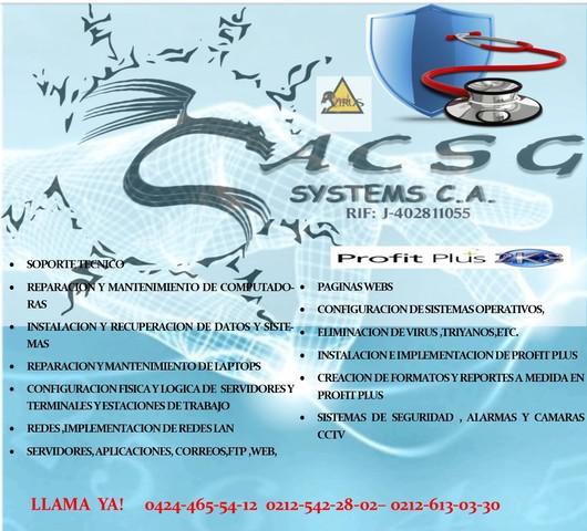Servicio técnico de sistemas informáticos