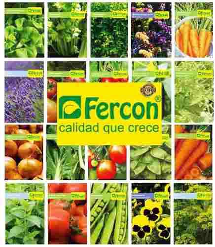 Sobre de semillas certificadas de hortalizas