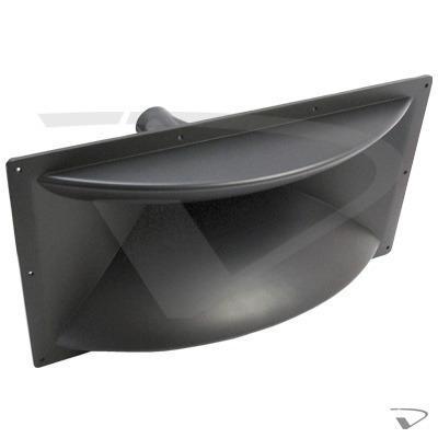 Trompeta difusor para driver rosca metalica 46.4x24.5cm
