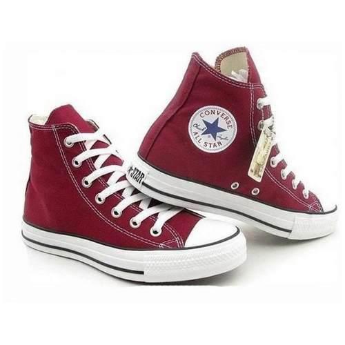 Zapatos converse blanca all star chuck taylor botas (tienda)