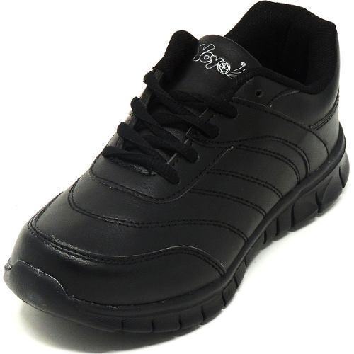 Zapatos deportivos escolares yoyo unisex 16367l negros 24-31