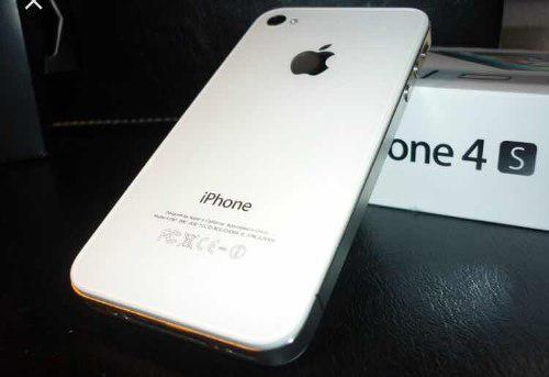 Iphone 4s 16gb liberado blanco
