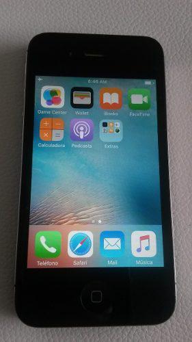 Iphone 4s 16gb usado liberado de fabrica negro y mas 60verde